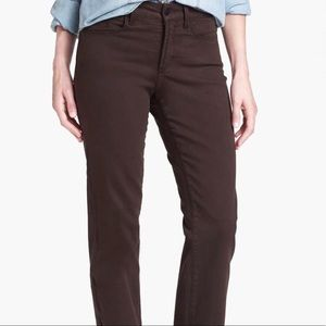 NYDJ Jeans Pants 10 Petite Chocolate brown